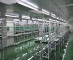 洁净生产线工程|百级层流流水线工程
