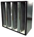 箱式活性炭过滤器|V型活性炭过滤器|颗粒活性炭过滤器